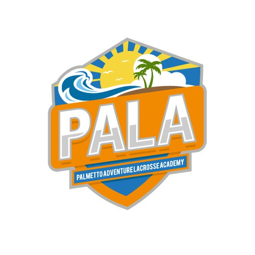 A Bold logo of Palmetto Adventure Lacrosse Academy.