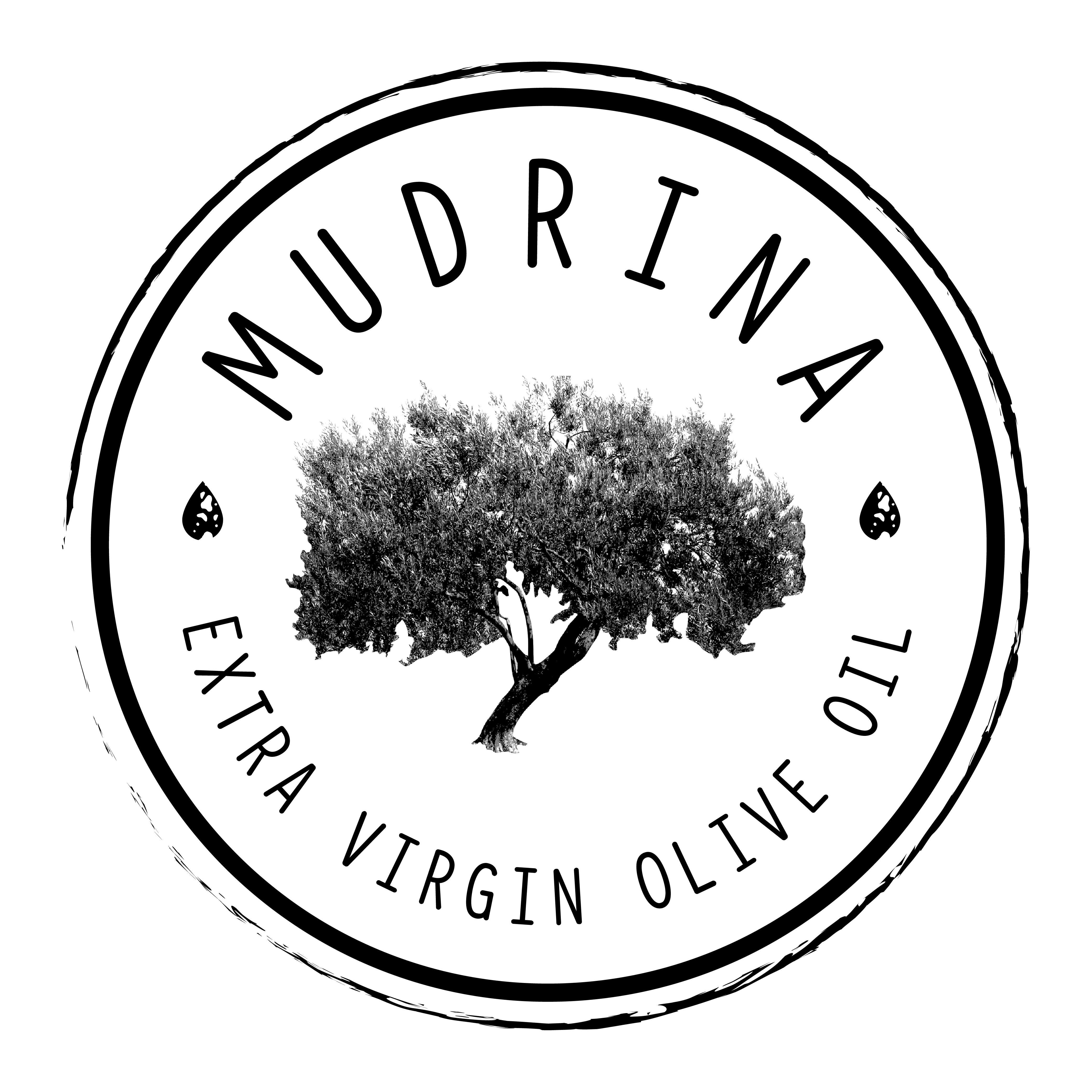 Mudrina Logo and Label Design