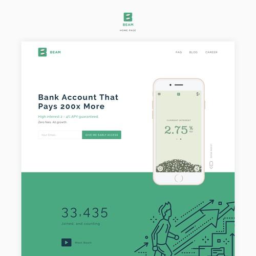 Banking App Website