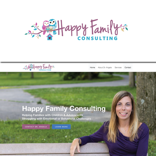 Logo for New Family Coaching / Consulting Practice