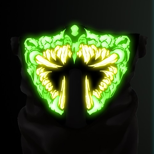 Design LED light up mask