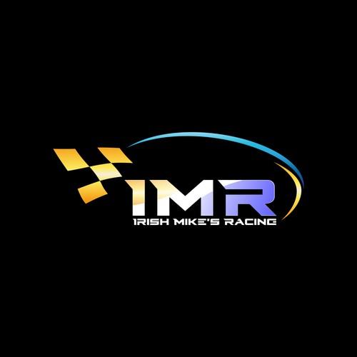 simple racing club logo