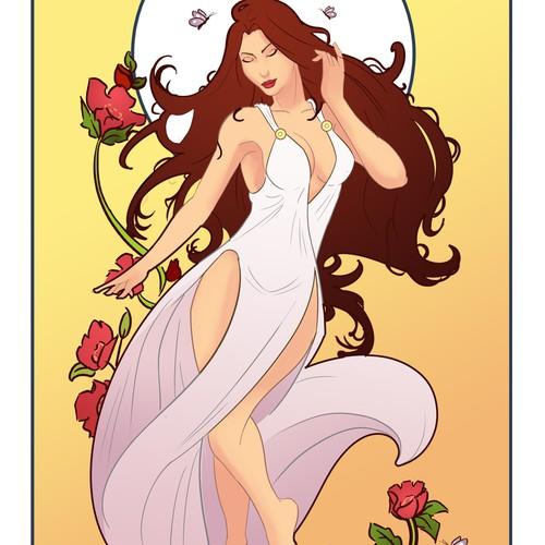Art Nouveau Goddess