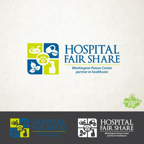WAPC Hopsital Fair Share Logo Winning Design