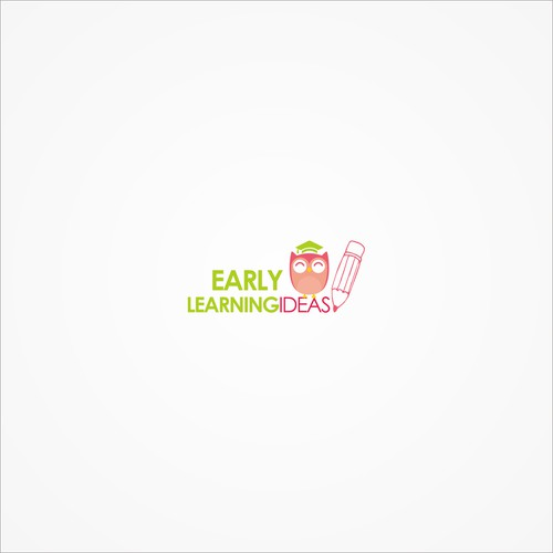 logo concept for early childhood educational resources