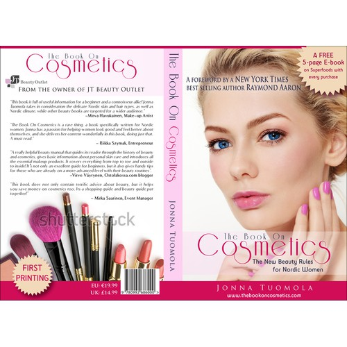 book or magazine cover for JT Beauty Outlet