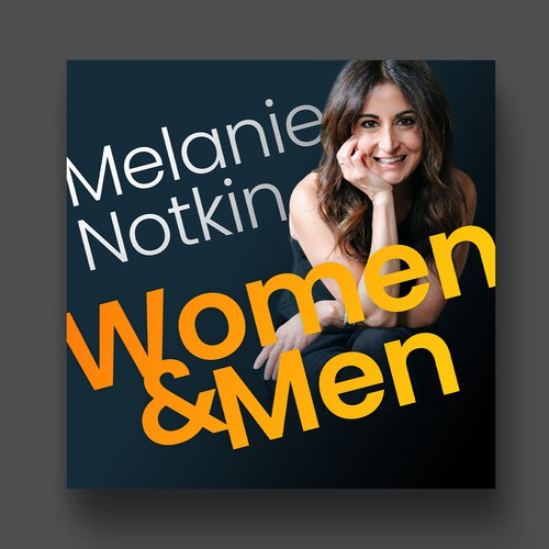 Podcast cover for Melanie Notkin
