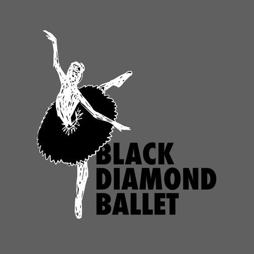 Bold logo for contemporary dance company