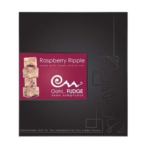 Branding and Packaging design for Ooh Fudge