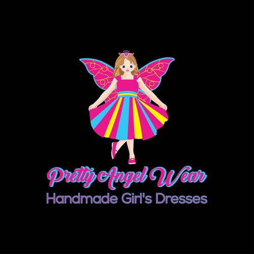 New handmade girl's fashion label Pretty Angel Wear needs a design!