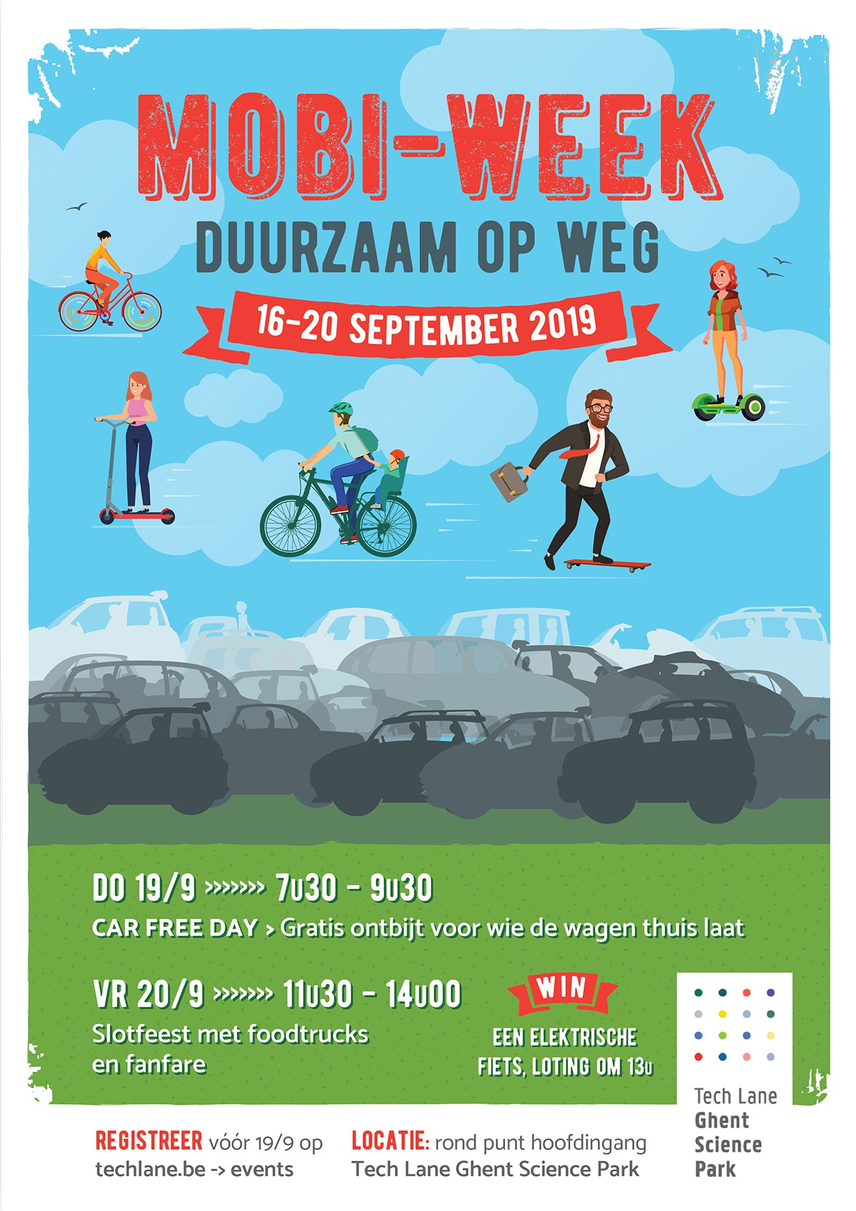 Mobility week: bring your bike, leave the car