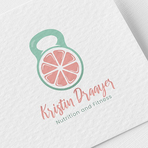 Logo Design for Nutrition and Fitness Coaching Business for Women