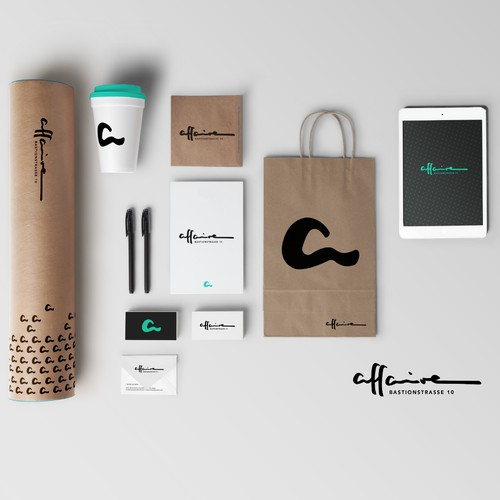 Brand Identity for affaire