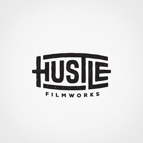 Handcrafted lettering logo for a filmmaker