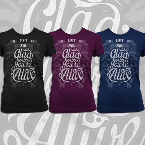 Create an Awesome Lyric Shirt!