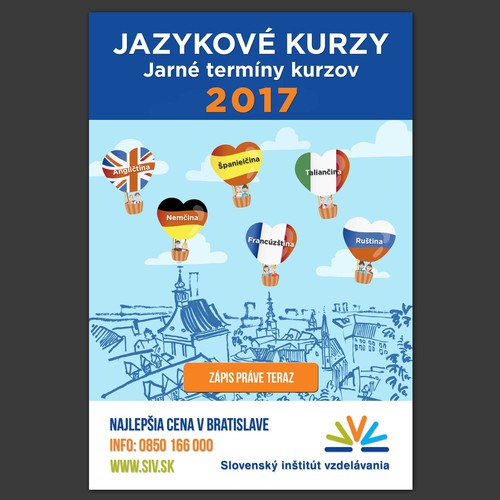 Poster for Slovensky Institut vzdelavania
