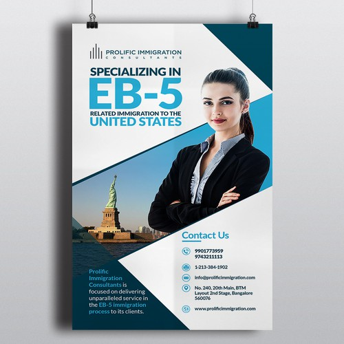 Immigration Consulting Company - Poster Design Needed