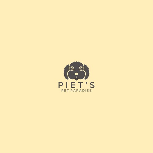 Simple Animal logo for Pie't Pet Paradise