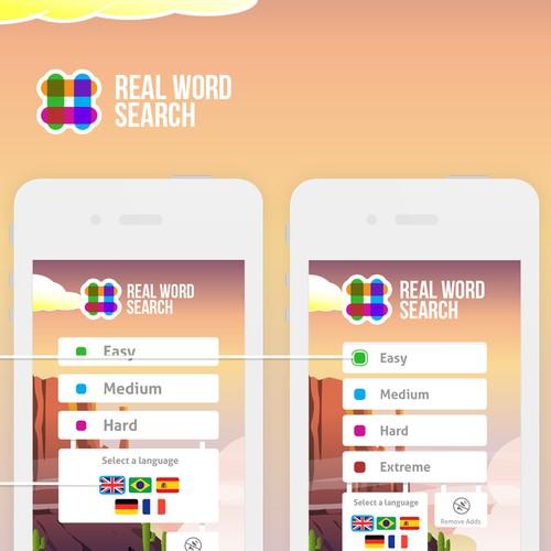 Game app UI