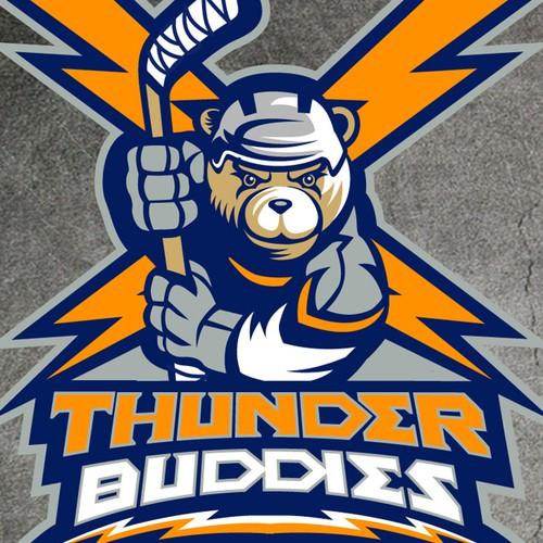 Thunder Buddies Hockey Teamneeds a new logo