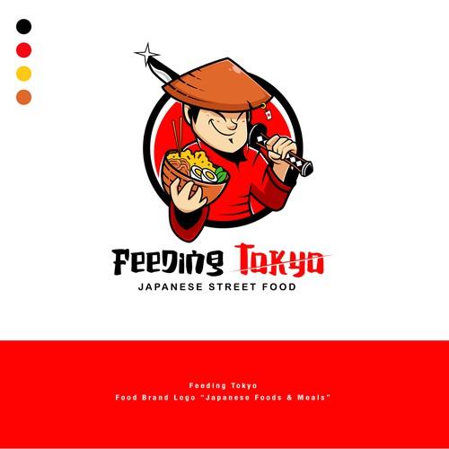 Food Brand Logo for Feeding Tokyo