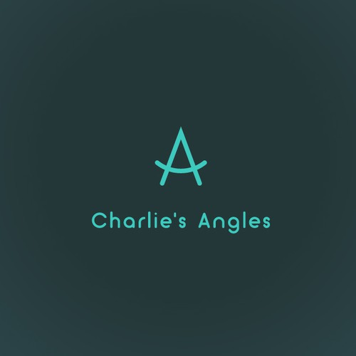 Charlie's Angles logo design concept