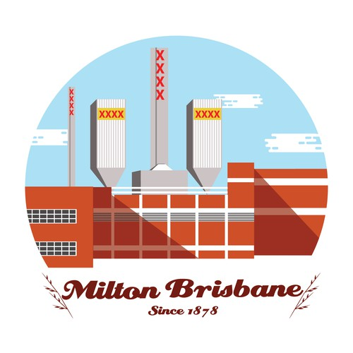 T shirt design for brewery