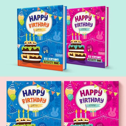 Kids book cover, fun project