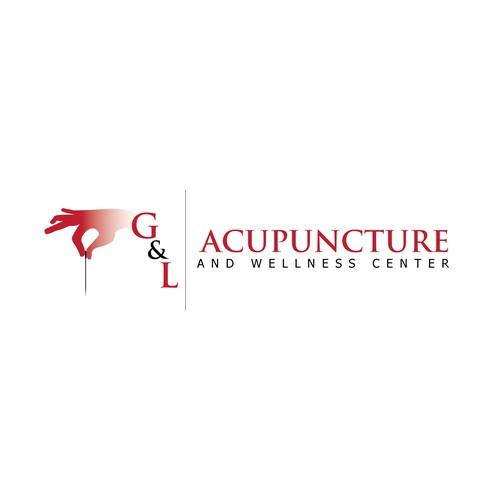 Logo pour acupuncture