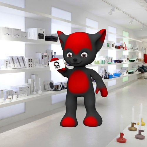 Mascot with the IQCARD