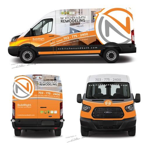 car wrap for NV Kitchen & Bath