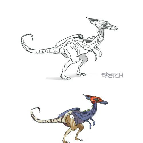Dinosaur Robot Concepts