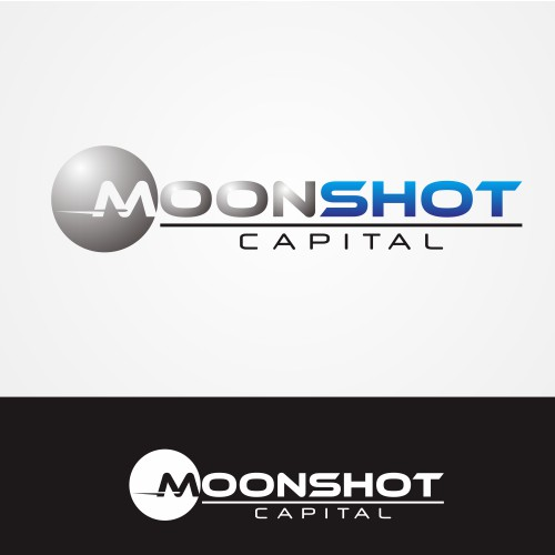 Looking for cool logo for new company, Moonshots Capital.