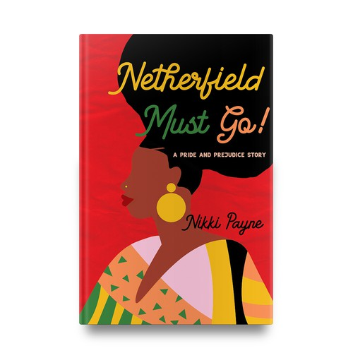 "Book cover for ""Netherfield Must Go!"""