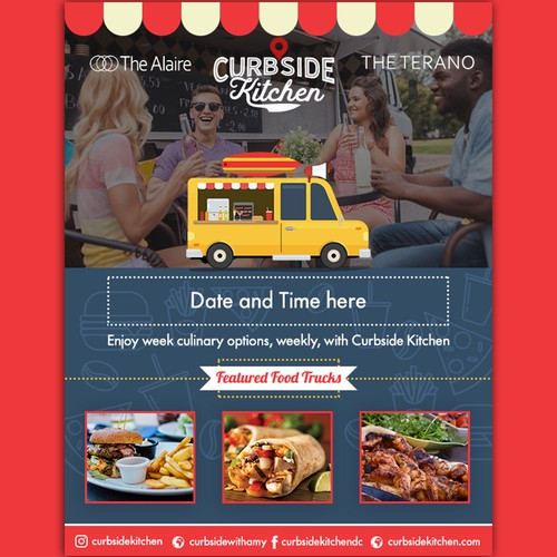 Curbside Kitchen Flyer