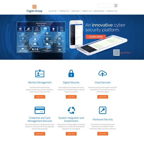 Cogito Website Homepage Banner