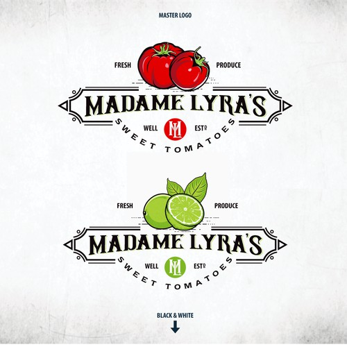 "Logo For ""Madame Lyra's"""