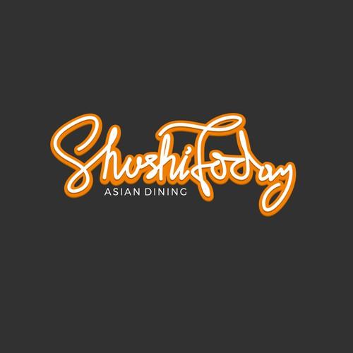 Custom font logo