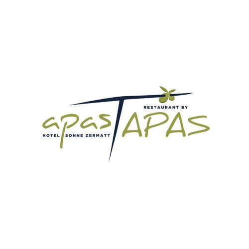 Apas Tapas Logo Design