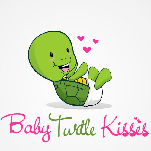 Create the look and logo for Baby Turtle Kisses