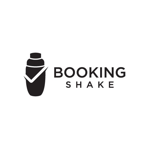 BookingShake's first Logo : Reservations management system for bars/restaurants/event spaces