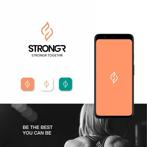 Logo for Woman Fitness App