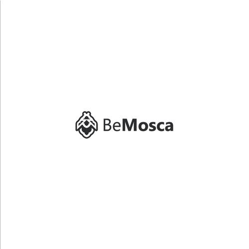 BeMosca Logo Design