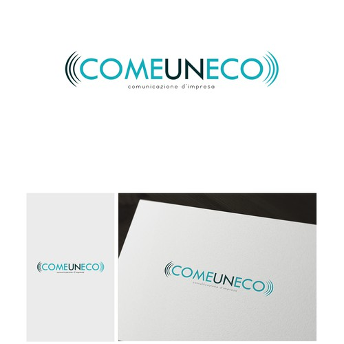 nuovo logo design per start up di comunicazione d'impresa - new logo for communication start up