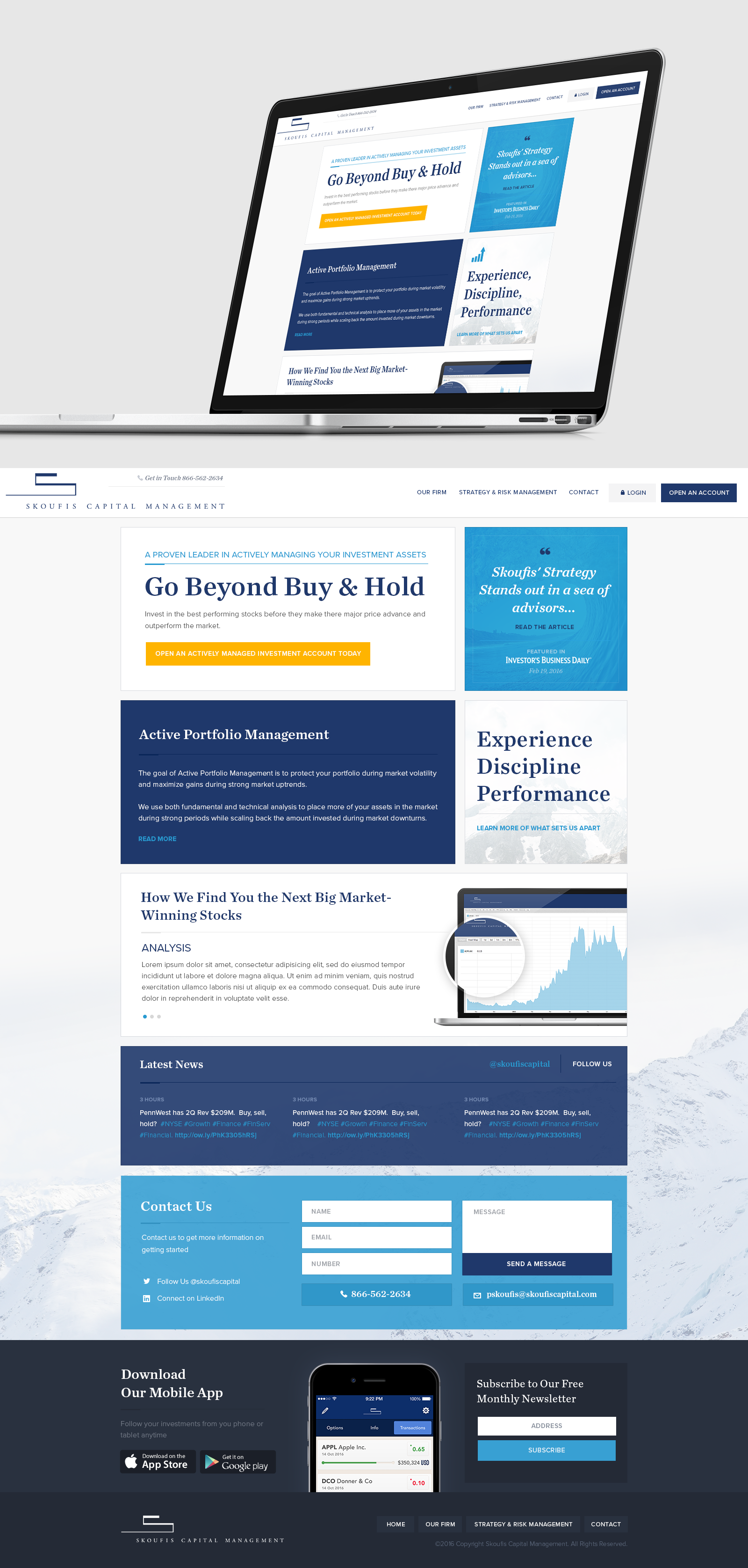 Money Management firm looking for fresh modern and simple yet stylish look for new Word pressed theme Website