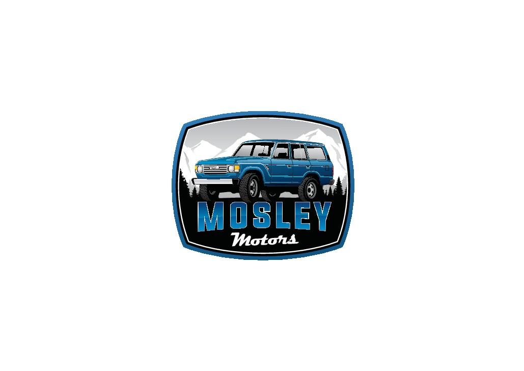 Design a logo for a boutique classic Toyota Land Cruiser garage.