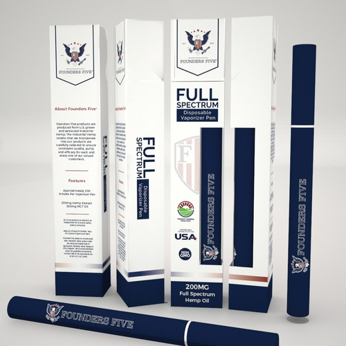 Product Packaging for Founders Five