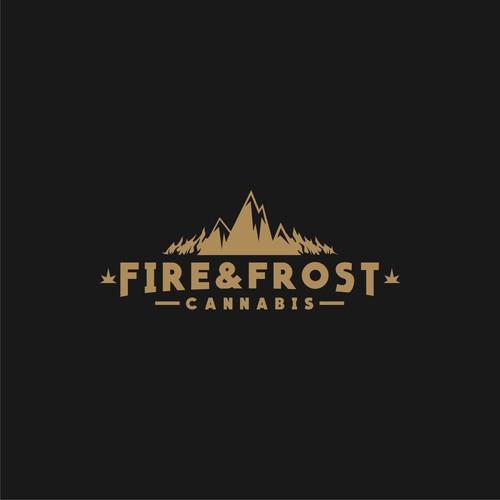 Vintage logo for medical cannabis company
