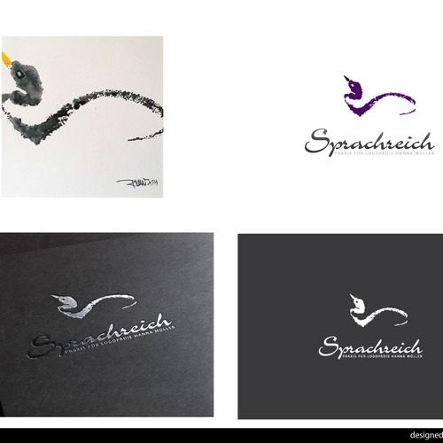 kreatives Praxis-Logo mit Wiedererkennungswert