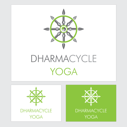Create the logo for new urban yoga and cycling studio!